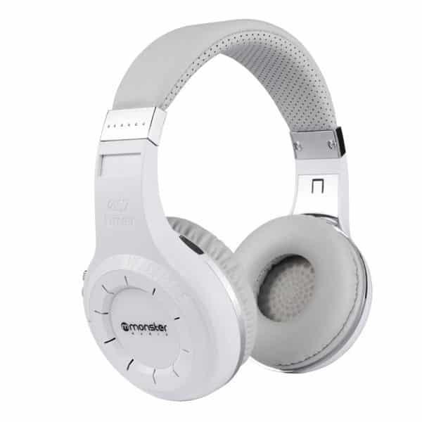 Audífonos Monster Bluetooth MX805 – Blanco – Larga duración