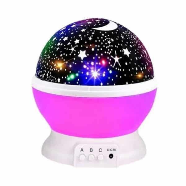 Lámpara de proyección principal de estrella del cielo estrellado, espanta cuco-3