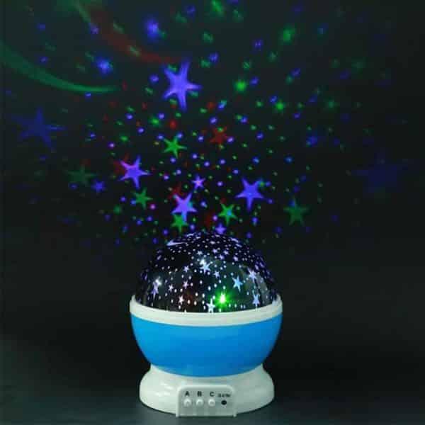 Lámpara de proyección principal de estrella del cielo estrellado, espanta cuco-6