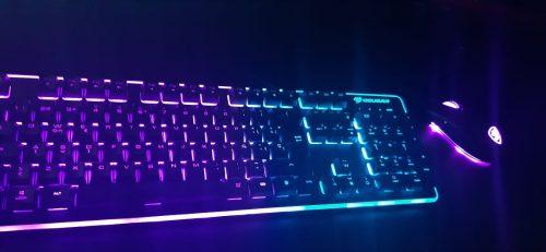 Kit Cougar Deathfire EX, Teclado + Mouse RGB photo review