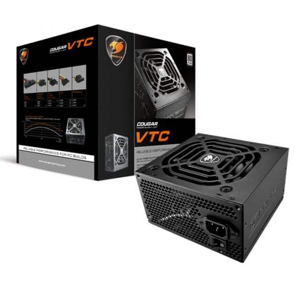 Fuente de poder Cougar 400 Watts VTC 400
