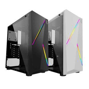 Gabinete Hype Legend RGB Vidrio Templado (Mini ITX, Micro, ATX, ATX)_