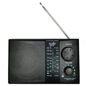 Radio recargable portátil (AM, FM, SW - USB, SD, Batería)_1