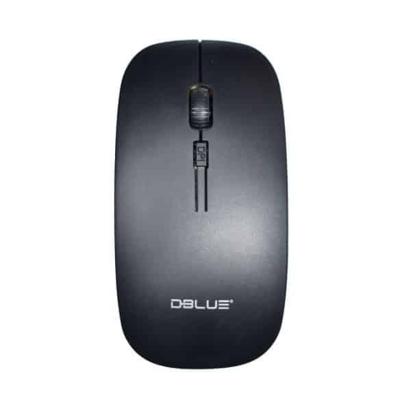 Mouse Inalámbrico óptico ergonómico 4D 2.4 GHZ 1000 DPI USB_1