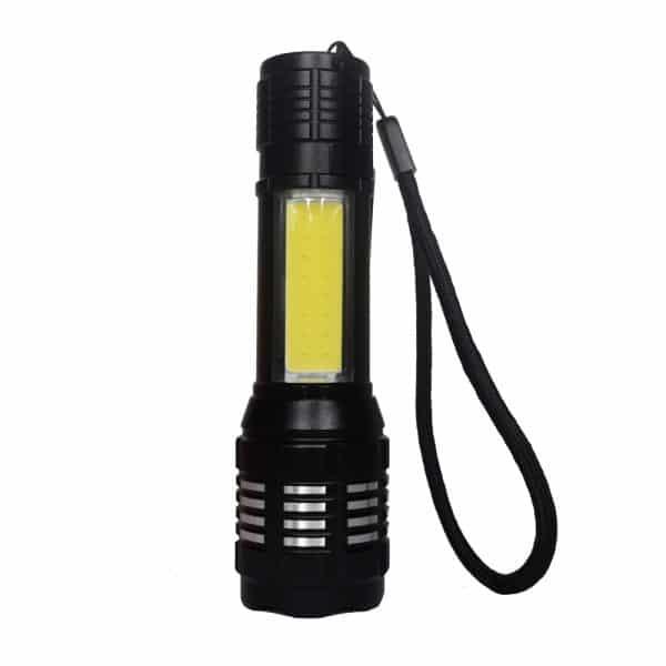 Linterna Multifunciones Power Style - carga USB (Luz, Luz baja, Zoom, Destellos)