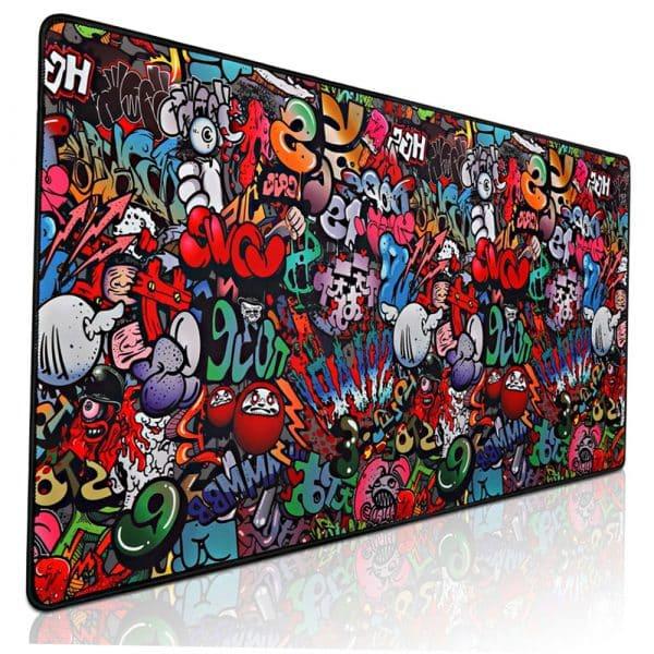 Mouse Pad Diseño Graffiti - XXL (90x40x2), DBMP011