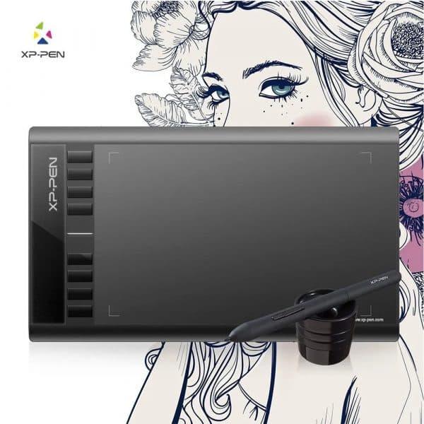 Tableta digitalizadora XP-Pen Star 03V2, USB, Lápiz ergonómico (Windows_Mac)_6