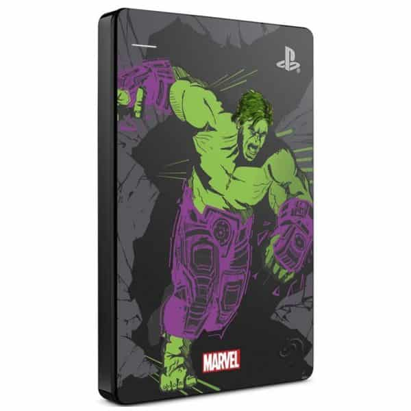 Disco Duro Externo Seagate Game Drive PS4 2TB - Marvel Avengers-105