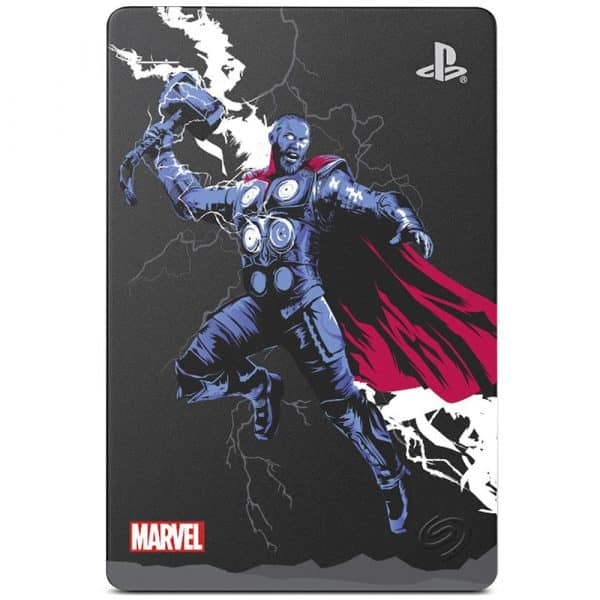 Disco Duro Externo Seagate Game Drive PS4 2TB - Marvel Avengers-106