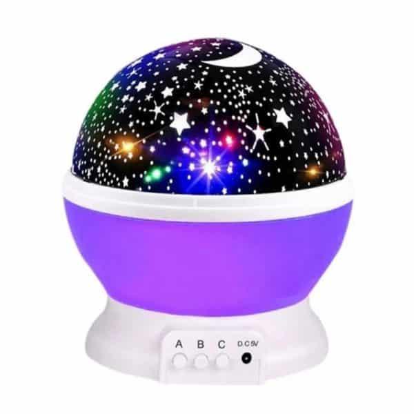 Lámpara de proyección principal de estrella del cielo estrellado, espanta cuco-1