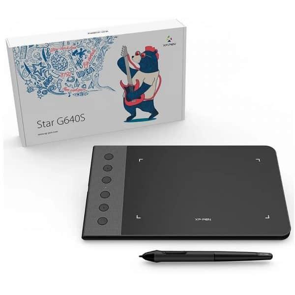 Tableta Grafica Digitalizadora XP-Pen G640s V2_5