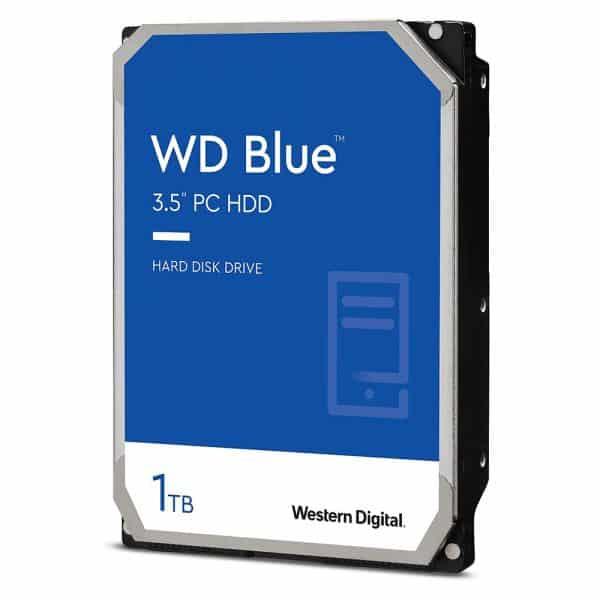 "Disco Duro Western Digital, 1TB WD10EZEX - (7200rpm, SATA, 6Gbs, 64MB, 3.5"" para Pc)"