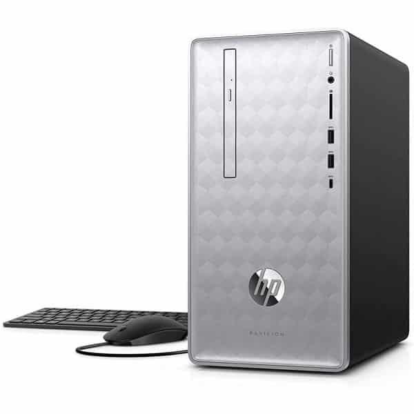 PC HP Pavilion 590 Core i5-8400, 12GB DDR4, 1TB, BT, WiFi - Reacondicionado