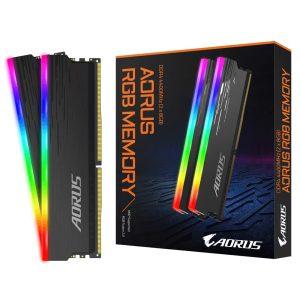 Set Memoria Ram AORUS RGB Memory 16 GB (2x8GB) 4400Mhz DDR4 - Para PC