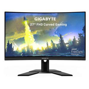 "Monitor Curvo Gamer Gigabyte G27FC-SA, 27"", FHD (1920×1080)-2"