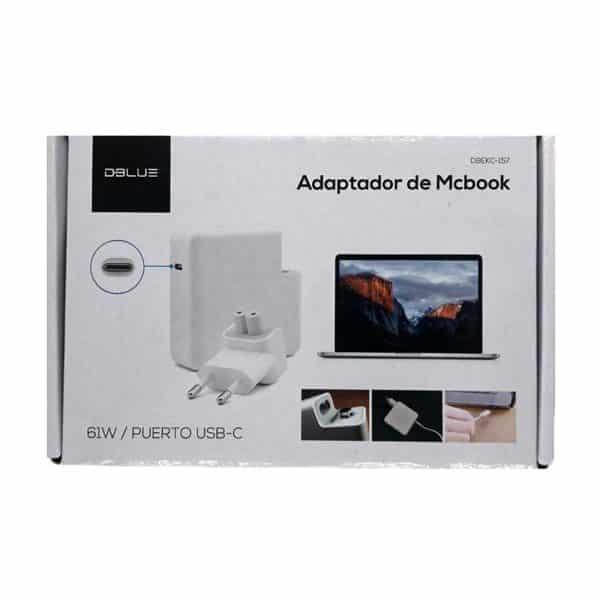 Cargador de Notebook, MackBook DBLUE DBEKC-157, 61W - TIPO C