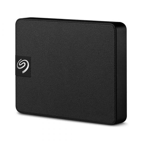 Disco portátil Seagate Expansión SSD 500GB (USB 3.0, Negro)