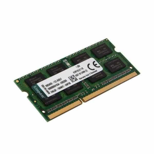 Memoria RAM Kingston KVR16LS118, 8GB, 1600Mhz, DDR3L, Para Notebook