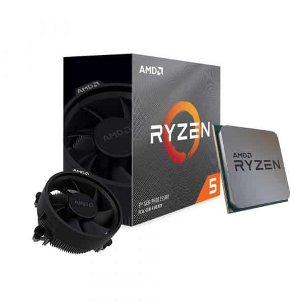 Procesador AMD RYZEN 5 3600 (100-100000031BOX), Sin Gráficos