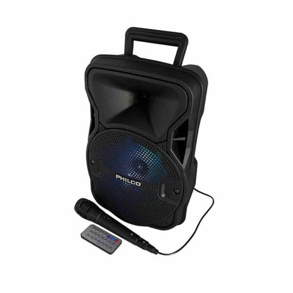 Parlante Karaoke Philco 758BK BT, 3000W, RGB, Control Remoto