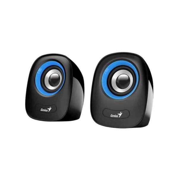 Parlantes Multimedia Genius SP-Q160 (2.0, 6W, 3.5mm + USB)-1