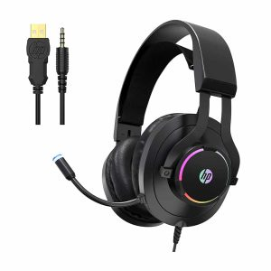 Audifonos Gamer HP H360, Micrófono, RGB, Pc, Ps4, 3.5mm