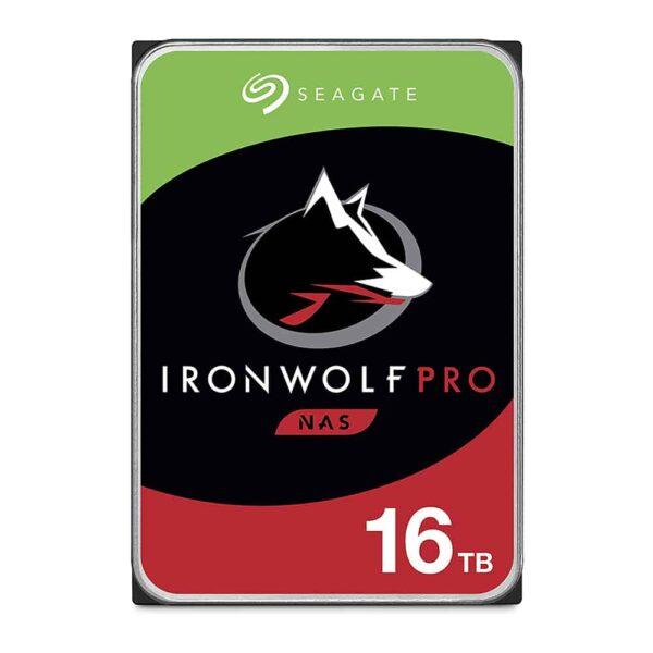 """Disco Duro Seagate IronWolf Pro de 16TB (Formato 3.5"""", SATA, 7200rpm, NAS)-1"""