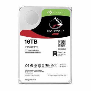 """Disco Duro Seagate IronWolf Pro de 16TB (Formato 3.5"""", SATA, 7200rpm, NAS)"""