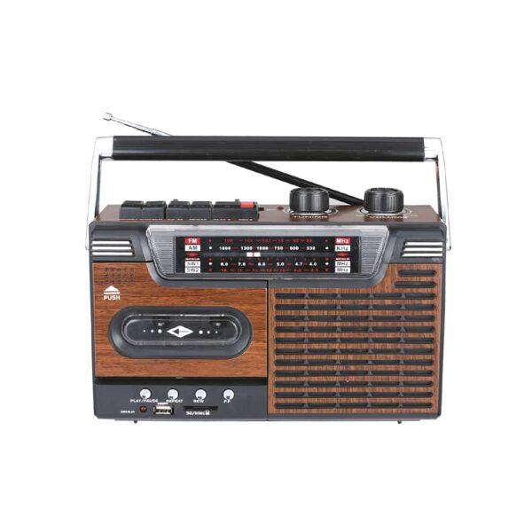 Radio Cassette AudioPro AP02076, portátil, BT, USB, 20W