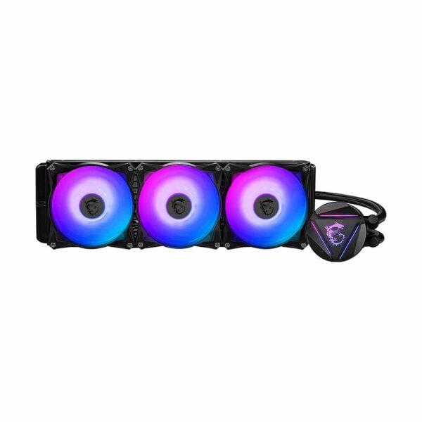 Refrigeración Líquida MSI Mag Coreliquid 360R (Intel-AMD, RGB, 3x120mm, PWM)