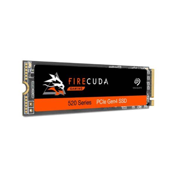 Unidad de estado solido Seagate Firecuda Gaming 520 series de 1TB (NVMe, Gen4, 50004400MBs)