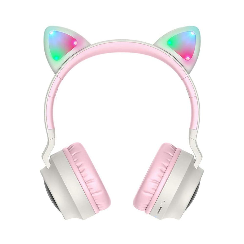 Audífonos inalámbricos Cat Ear - BT028, RGB, micrófono