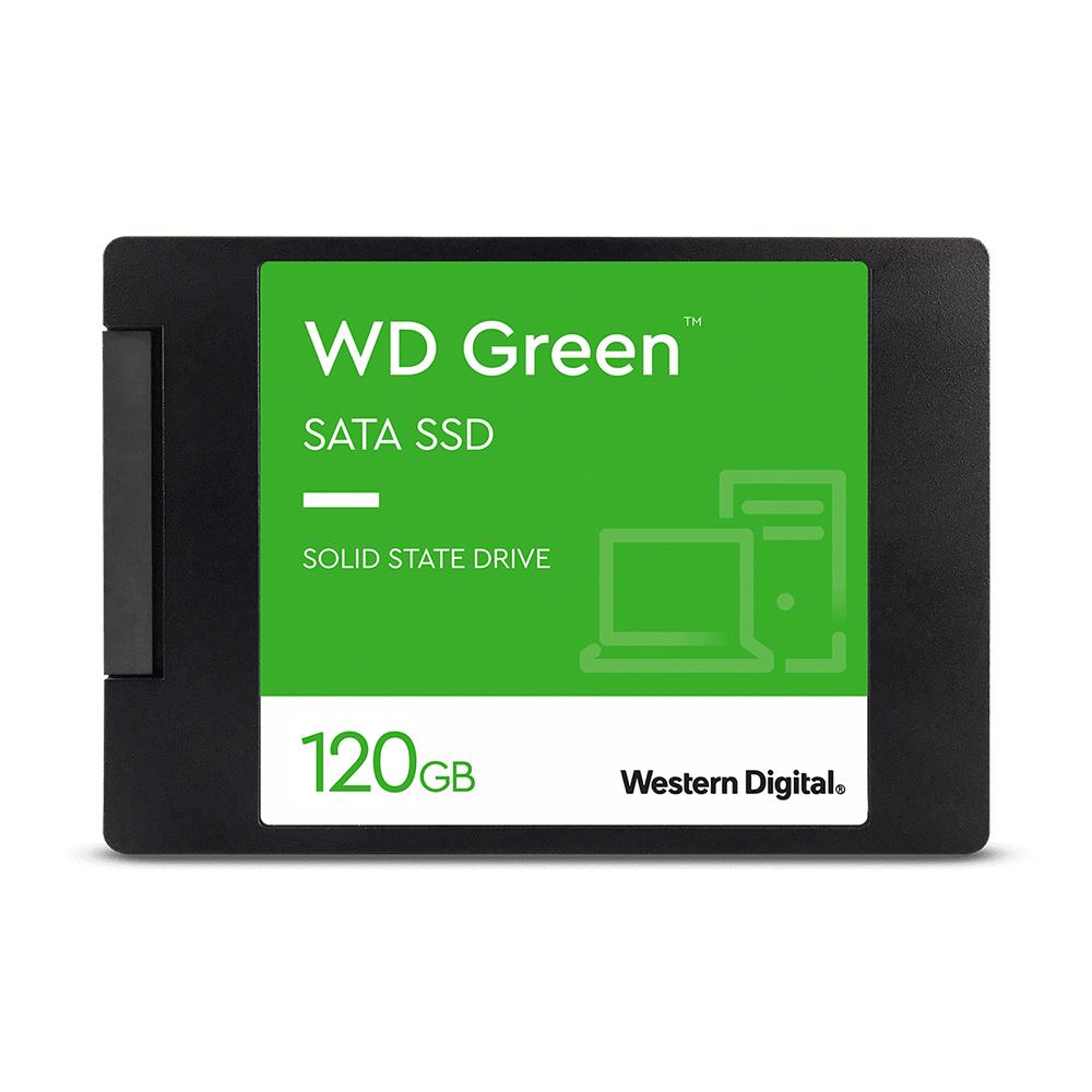 Disco estado sólido Western Digital Green de 120GB (SSD, SATA)