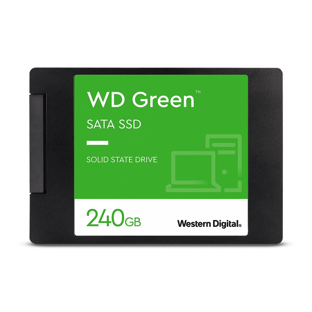 Disco estado sólido Western Digital Green de 240GB (SSD, SATA)