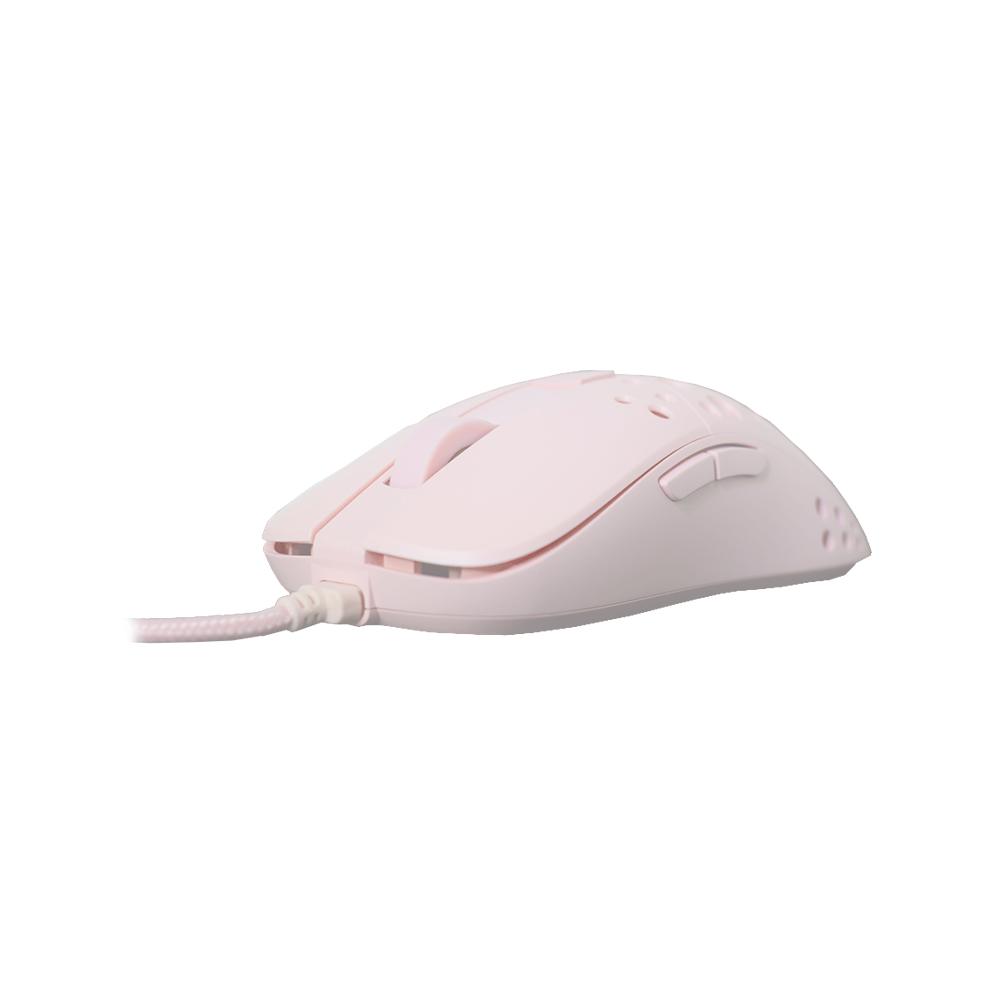 Mouse Gamer Cool Lights MK-905 (1600-3200 DPI, RGB, Rosado)-2